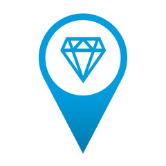 Icono localizacion simbolo joyeria