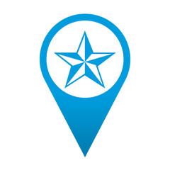 Icono localizacion simbolo favorito