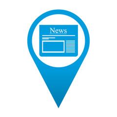 Icono localizacion simbolo News