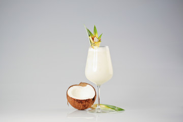 Coconut cream cocktail