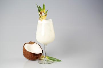 Coconut cream cocktail