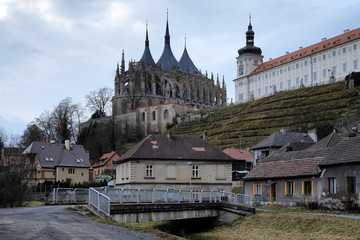 Church of St. Barbara and Jesuit College in Kutna Hora