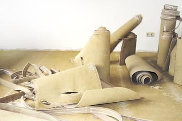 Carpet remnants for renovation
