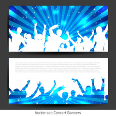 Music Banner Collection - Vector