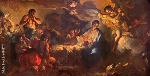 Tuinposter Venetie Venice - Adoration of shepherds in San Zaccaria church.