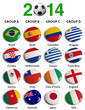 2014 Fifa World Cup Brazil Groups