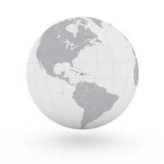 Mappamondo America, Haiti