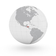 Mappamondo America, Honduras