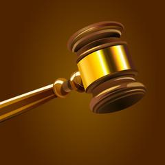 Gerichtshammer Richterhammer Vektor