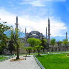 Hagia Sophia. A museum in Istanbul, Turkey.