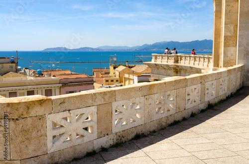 Sardegna, Cagliari, terrazza Umberto I