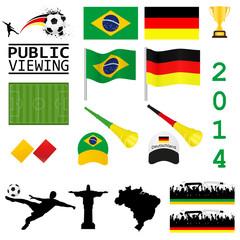 Fußball Set 2014