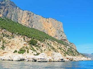 Orosei Gulf coastline
