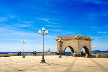 Sardegna, Cagliari, Bastione Saint Remy