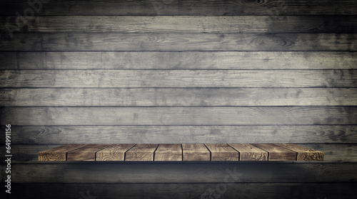 Fototapeta Wood Texture Background. Vintage and Grunge style.