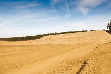 quarry for sand mining