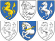 Coat of arms - horses