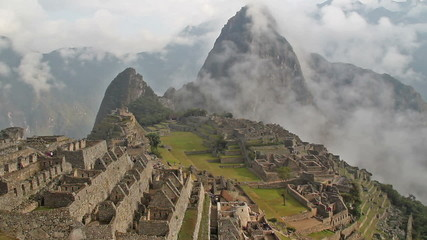 Timelapse video of Machu Picchu