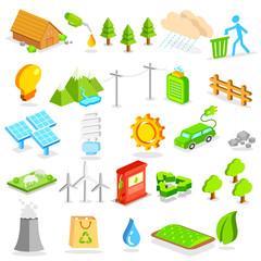 Isometric Environment Icon