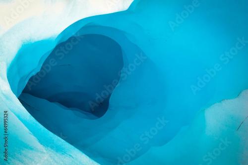 Leinwandbild Motiv Ice Cave in Fox Glacier, New Zealand