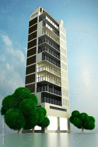 canvas print picture Modernes Gebäude