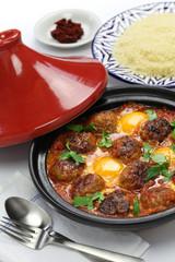 kofta tajine, kefta tagine, moroccan cuisine