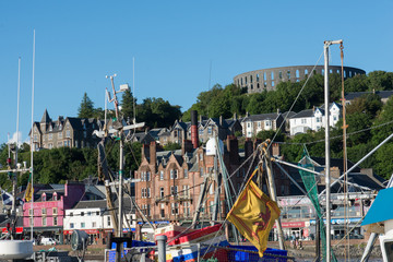 Oban, the ancient port of Scottish land