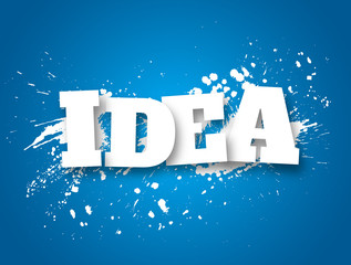 Idea. Business concept