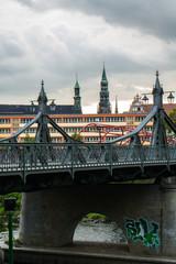 Paradiesbrücke Theater und Dom Zwickau