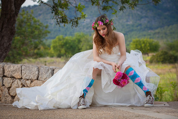fashion jilted teen bride.