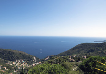 The coast at eze