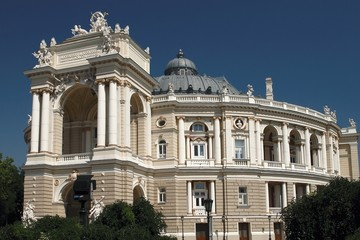 The Building of the Odessa Opera and Ballet Theatre