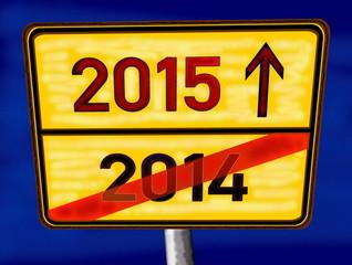 Altes Jahr 2014 – neues Jahr 2015