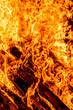 canvas print picture - Bonfire