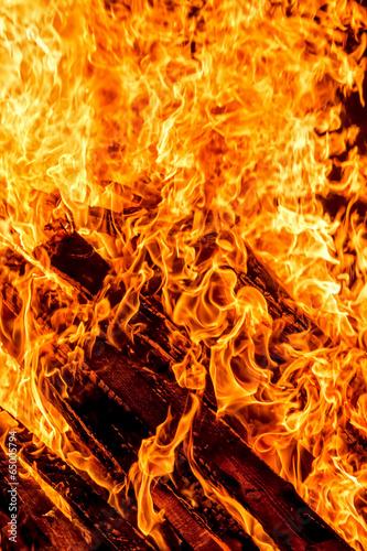 canvas print picture Bonfire