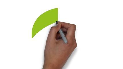 Blatt Blätter grün Öko Symbol ökologisch bio biologisch Symbol
