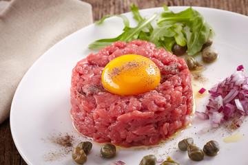 fresh beef tartare