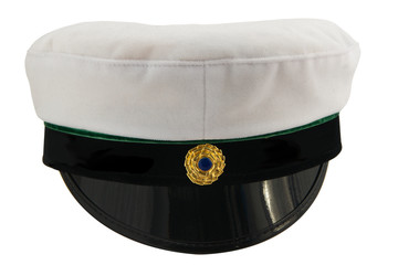 Student cap isolated