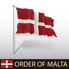Flag of Maltese Order