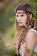 cosplay elf fairy tale character