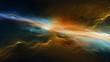 Leinwandbild Motiv 宇宙空間