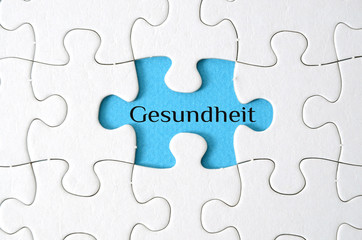 Puzzle-Gesundheit