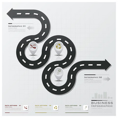 Road And Street Business Infographic