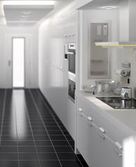 Küchentrakt (focus)