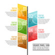 Square Panel Sign Infographic