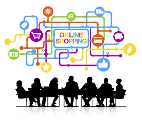 Vector of Online Shopping Concept