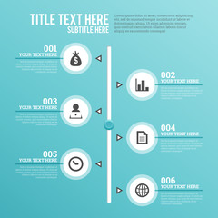 Vertical Slider Infographic