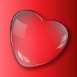 kropla serce wektor