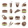 Fast Food Icons - 65018351