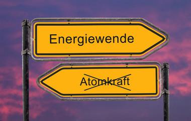 Strassenschild 22 - Energiewende